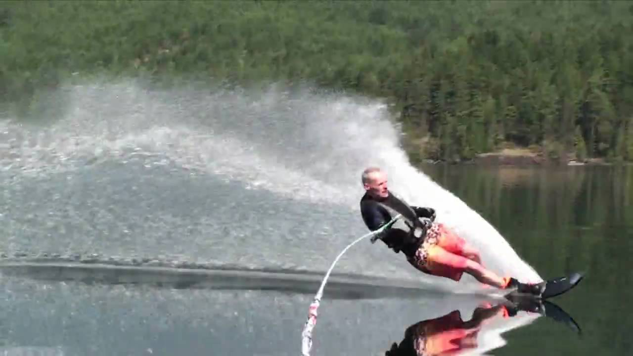 How to Slalom Ski (Water Ski on One Ski)