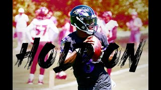 Lamar Jackson Highlights ft. Lil Tjay - Hold on