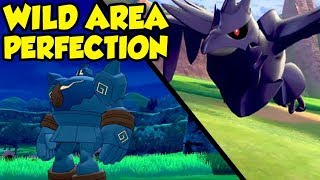 Pokemon Sword and Shield Wild Area IS THE BEST POKEMON GAMEPLAY EVER
