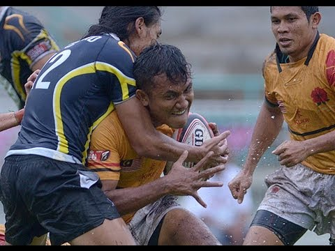 HSBC Asian Rugby Sevens Series: Malaysia Sevens 2013 - Malaysia vs Thailand