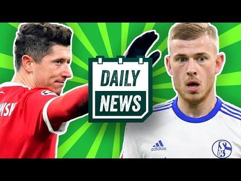 Lewandowski zu Real Madrid? Max Meyer lehnt Vertrag ab & Carrasco nach China! Daily News