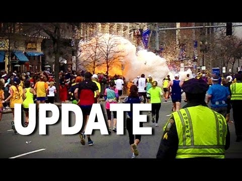 Boston Marathon Update & Patton Oswalt's Words of Wisdom