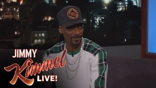 Snoop Dogg Surprises Jimmy Kimmel with Generous Donation