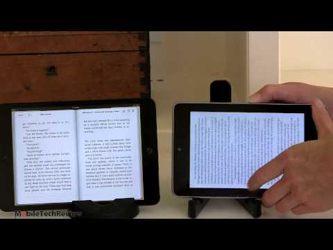 iPad mini vs Nexus 7 Comparison Smackdown