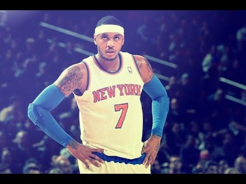 'Make it Rain': Carmelo Anthony Makes History in MSG ᴴᴰ