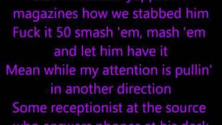 Eminem - Like Toy Soldiers (lyrics) HD