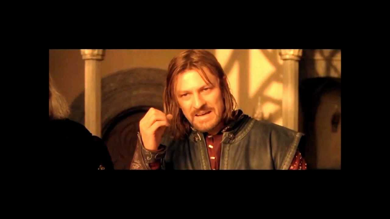"""/facepalm """"One Does Not Simply Walk Into Mordor"""" - Boromir ..."""
