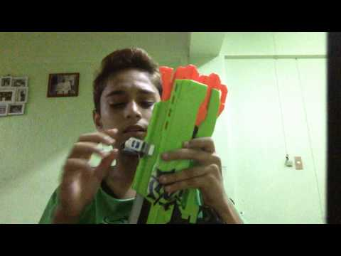 Homemade Nerf scope review