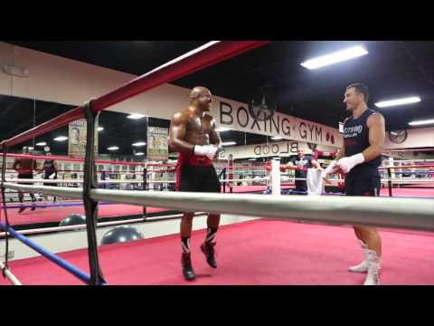 Klitschko-Briggs Gym Showdown