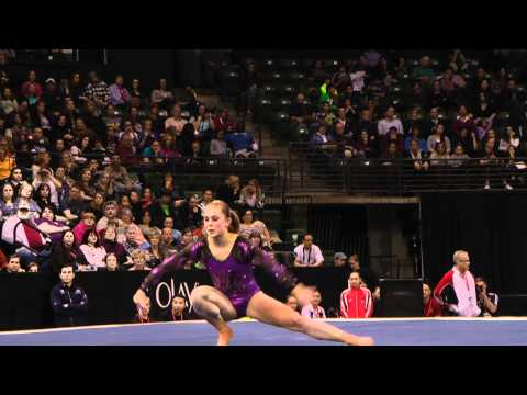 Lauren Mitchell - Floor Exercise Finals - 2012 Kellogg&#039;s Pacific Rim Championships - 5th