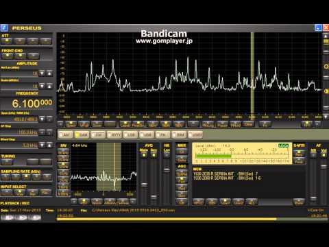 6100 kHz Radio Serbia International / May. 17,2015 1930 UTC