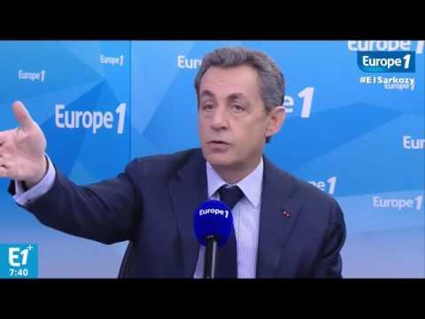 Nicolas Sarkozy - Suivez-moi en direct sur Europe 1 jusqu'à 9h
