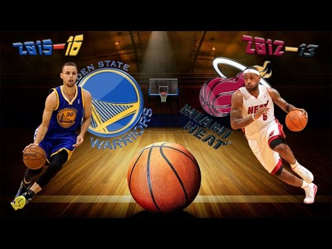 2015–16 Golden State Warriors vs 2012–13 Miami Heat Top 10 Win Streak's Plays