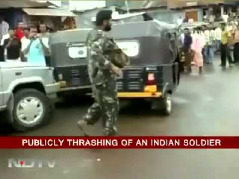 Girl Beats Up Indian Soldier For Molesting Her (360p).flv video