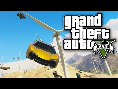 Gta 5 Online - Windmill Death Race! (gta V Online) video