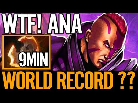 ANA Antimage 9Min Battlefury Close to Record Divine Ranked Dota 2