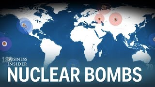 Every nuclear bomb explosion in history