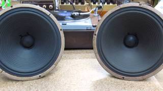 "Goodmans 12"" alnico speakers Decca Check-Out LP"