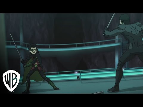 Batman vs. Robin - Nightwing Fight
