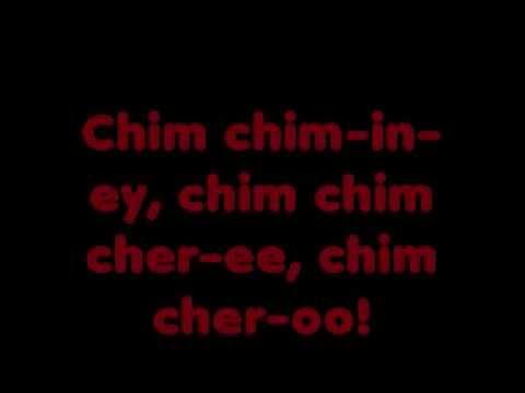 Chim Chim Cher - ee lyrics
