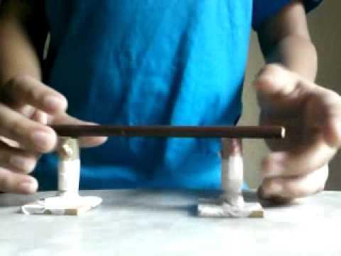 como fazer corrimão para skate de dedo (simplificado)