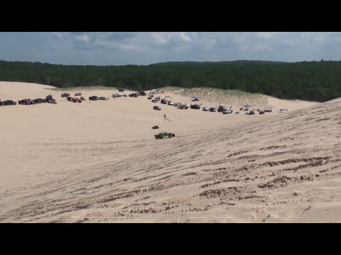 SILVER LAKE SAND DUNES / July 4th 2013 Film #63 Test Hill top
