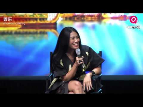Anggun, David Foster, Melanie C, and Van Ness Wu for Asia's Got Talent
