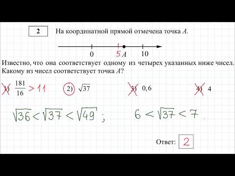 Тест огэ 8 класс математика 2016 с ответами