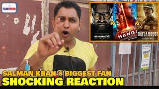 Saaho vs Mission Mangal vs Batla House | Salman Khan's Biggest Fan REACTION | Big Box Office Clash