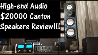 Why high-end audio? $20k Canton Speakers review
