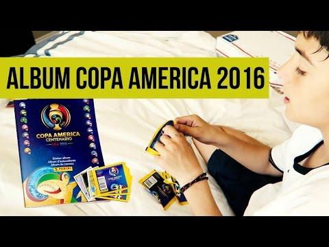 UNBOXING ALBUM COPA AMERICA CENTENARIO USA 2016 PANINI┋ 50 CROMOS ┋PELOTA DE FUTBOL NIKE