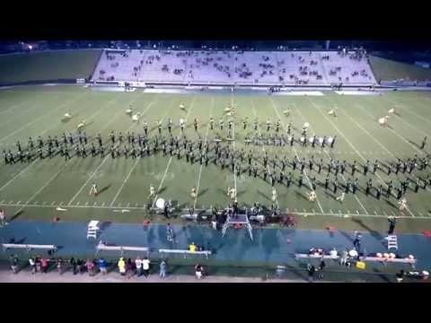 DeLand High School Marching Bulldogs 8/24/2014 vs Flagler Palm Coast