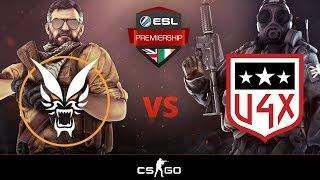 [Counter-Strike] Fierce Esports vs U4X - ESL Premiership Winter 2018 - Week 2