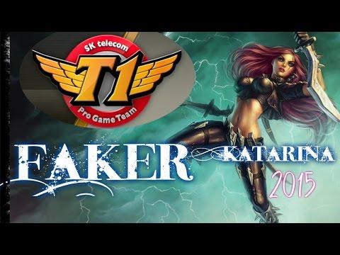 Faker SK Telecom T1 KATARINA MID vs Lulu - League of Legends Ranked Game Korea