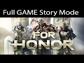 FOR HONOR All Cutscenes (Game Movie) Full Story 1080p 60FPS