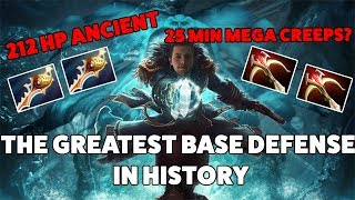 THE GREATEST BASE DEFENCE IN HISTORY? - 25 minute mega creep comeback