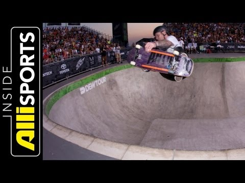 Tom Schaar, Chris Miller at Dew Tour Legends Bowl Jam | Inside Alli Sports