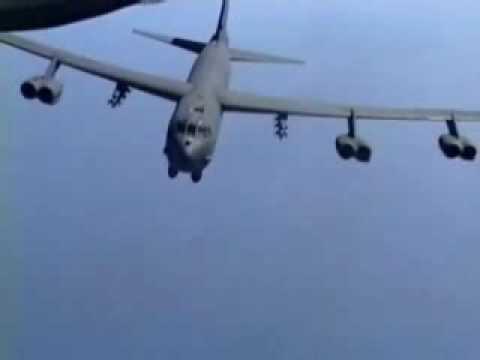 B-52 Dropping Lots  amp Lots of  B 52 Stratofortress Carpet Bombing
