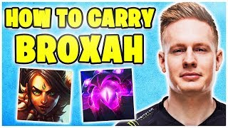 FNC Broxah & Noway4u DuoQ! Best Of Noway4u Twitch Highlights LoL
