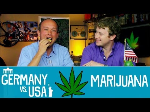 Marijuana- Germany vs USA