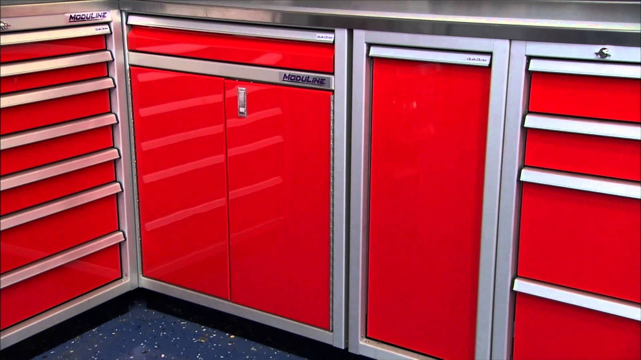 [Moduline Cabinets on Two Guys Garage] Video