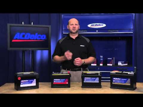 Cold Cranking Amps (CCA)  vs. Reserve Capacity (RC)    ACDelco Car & Truck Battery