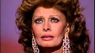 Sophia Loren's Honorary Award: 1991 Oscars