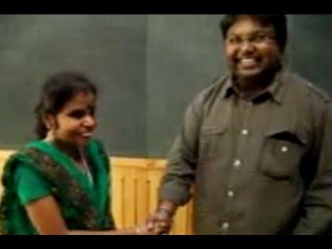Vaikkam Vijayalakshmi records for Ennamo Yedho   D Imman - BW...