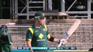 2nd ODI AUS v SL - Match Wrap