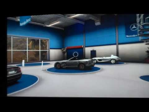 Test Drive Unlimited 2 - Mercedes benz Showroom