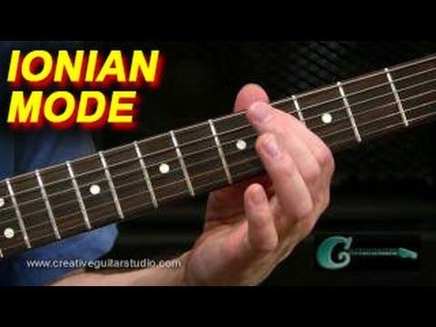 Lesson Guitar - Ionian Major In E