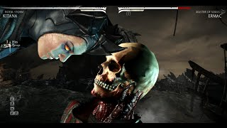 Mortal Kombat X - All Characters Performed Ermac