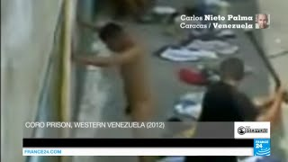 Download Venezuela: Secret footage shows naked prisoners tortured by guards near Caracas 3Gp Mp4