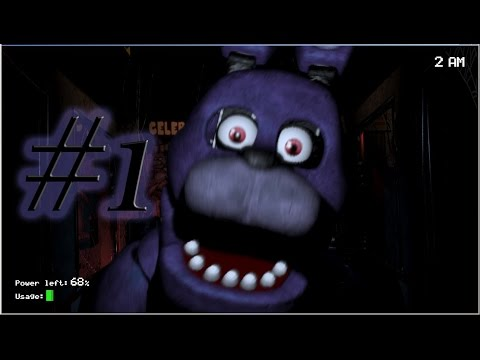 Five Nights At Freddy's / Gece Vardiyası / Bölüm 1 [HD]